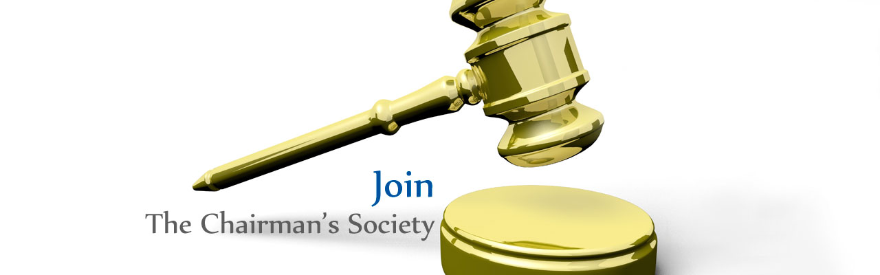 Gavel Join Chairman's Society