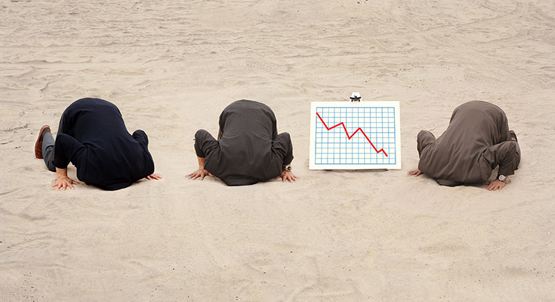 Executives bury head in sand dysfunctional toxic culture poor governance